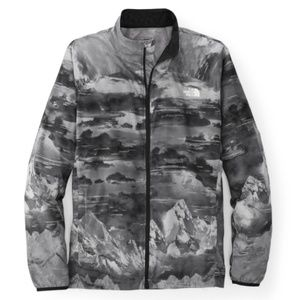 New North Face ambition jacket mountain print